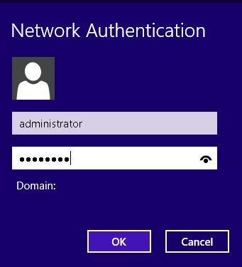 Usuario y contraseña de la conexión VPN